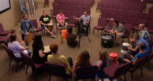 Drum Circle Creative Church