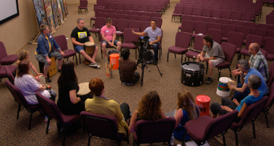 Drum Circle Creative Church