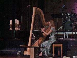 DSC07154 Harpist Bsm