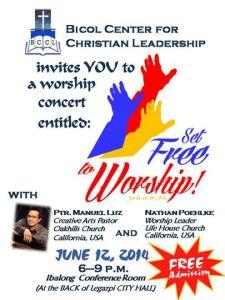 Set Free To Worship Poster